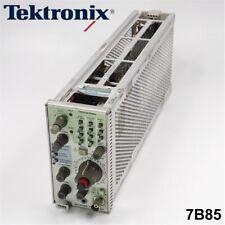 Tektronix 7b85 Delaying Time Base Plug In Module