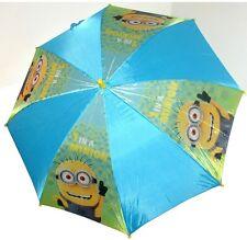 Minions blu Ombrello bimbo bambina parapioggia automatico,originale