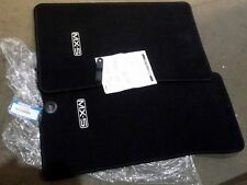 Mat set, MX-5, RHD, Eunos, MX5, mk1, mk2, 89-05, black, genuine Mazda floor mats