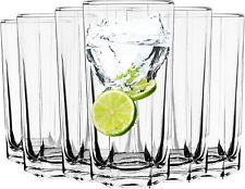 6er Set Trinkgläser Longdrink Gläser Wassergläser Wasserglas Glas Trinkglas Saft