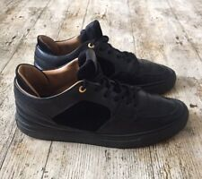 Men's ANDROID HOMME Leather & Suede OMEGA Trainers Sneakers ~Size 8/42~