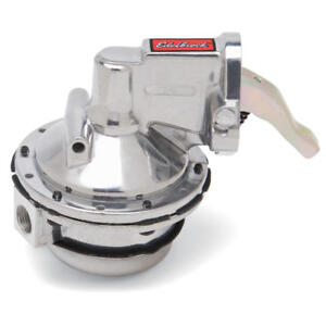 Edelbrock Mechanical Fuel Pump 1712; Victor 130 gph 10 psi for Chevy 396-454 BBC