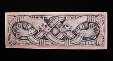 Snake Celtic Infinity Garden Plaque Arts & Crafts Gothic Ellison Tile