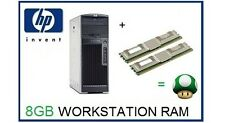 8GB (2x4GB) 667Mhz ECC Memory Ram Upgrade For HP Workstation XW6400 And XW6600