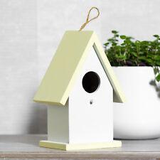 19cm Wooden Garden Bird Feeder House Tree Hanging Nesting Box Decoration Gift