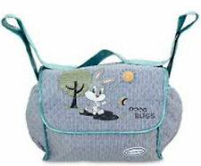 Baby Looney Tunes - Big, Blue - Pram Bag New Mums - Size: 37 x 26 x 17 cm
