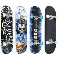 Skateboard Holzboard Deck Funboard Komplett Skate Board Ahornholz ABEC-7 /9