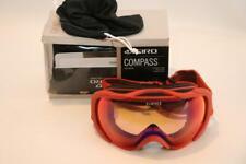 New Giro Compass Winter Snow Goggles Ski Snowboard Glowing Red Persimmon Blaze