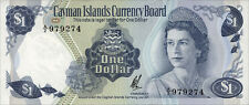Cayman Inseln / Cayman Islands 1 Dollar 1971 (1972) Pick 1b (1)