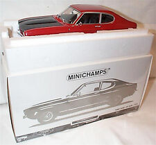Ford Capri Mk1 RS 2600 1970 Red & Black New Boxed Item 1-18 Scale ltd edition
