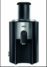 Braun Spin Juicer J500 Black 1.25 Litre 900 Watt Identity Collection 900w Black