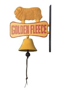 Cast Iron Golden Fleece Door Bell