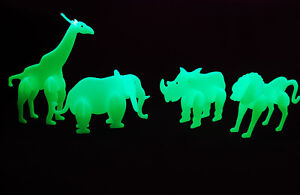Glow in the Dark 3D Safari Animals