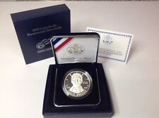 2009-P,Proof Louis Braille Bicentennial Commemorative Silver Dollar 2009 P