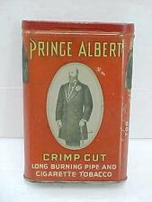 Vintage Prince Albert Crimp Cut Pipe and Cigarette Tobacco Tin - Empty