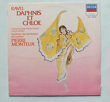33 TOURS - RAVEL - DAPHNIS ET CHLOE - PAR P MONTEUX - DECCA 592027 - BA-342 *