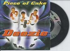 PIECE OF CAKE - Deezie CD SINGLE 2TR Europop 1998 BELGIUM RARE!!