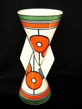 CLARICE CLIFF LIMITED EDITION CIRCLES AND SQUARES YO YO YOYO VASE VASES SECONDS