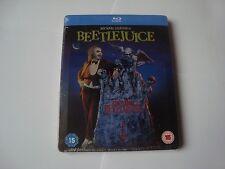BEETLEJUICE Blu-Ray SteelBook NEW&SEALED Tim Burton DEBOSSED 2000 lit. Ed.
