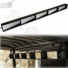5 PANEL GOLF CART Mirror Universal Wink Panoramic Rear View For EZGO Club Car