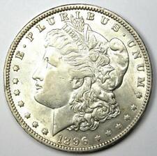 1896-O Morgan Silver Dollar $1 - Choice AU - Nice Detail & Luster - Near MS/UNC!