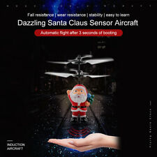 Kid Remote Control RC Drone Helicopter Aircraft Christmas Santa Claus Gift Toy