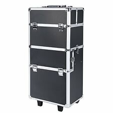 Songmics Large Beauty Nail art Storage Tool Kit Trolley XXL Adjustable Dividers