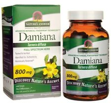 Damiana 800 mg x 90 Vegi Capsules Nature's Answer - 24HR DISPATCH