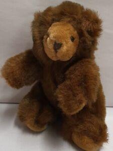 Russ Berrie Willoughby Plush Teddy Bear Mohair Soft Toy 16cm KC6