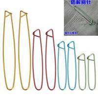 4 Sizes Aluminum Stitch Holders Pins Knit Knitting Needles Crochet Hooks Tool