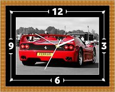 Ferrari F50 Rear Clock Gift Present Christmas Birthday (Can Be Personalised)