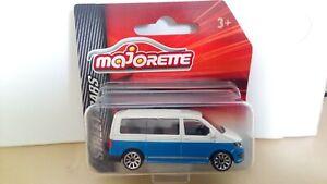 MAJORETTE - VW VOLKSWAGEN T6 TRANSPORTER  BLUE    1/64 APROX *NEW*