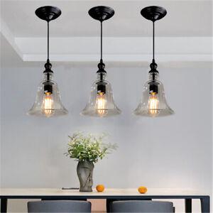 Kitchen Pendant Lighting Glass Lamp Modern Ceiling Light Bar Chandelier Lights