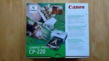 Canon CP-220 Thermal Printer