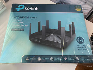 TP-LINK AC5400 Aecher  Wireless Mu-Mimo Gigabit Router - Black