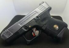 New listing WE Tech Airsoft Glock G27 Gas Blowback Pistol *Custom Paintjob* *Polished Rails*
