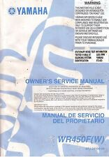 YAMAHA WR450F(W) Owner's Service Manual