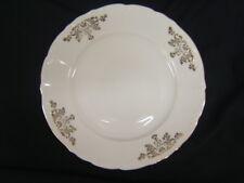 MZ Czechoslovakia Slovakia Altrohlau 4 Dinner Plates Gold Edge VGC
