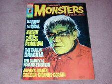 FAMOUS MONSTERS # 110, Karloff, Price, Chaney, Godzilla, Gigantis, Gorath