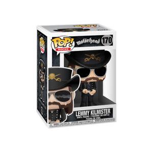 "Funko POP! Rocks Motorhead Singer Bassist Lemmy Kilmister 4.5"" Vinyl Figure #170"