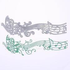 Music Butterfly Die Craft Cutting Dies Machine for DIY Scrapbook Album Card