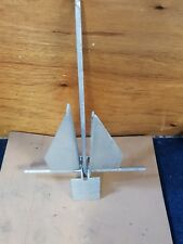 7 KG GALVANISED DANFORTH DINGHY RIB BOAT ANCHOR