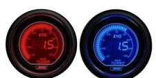 Prosport 52mm EVO Car Boost Gauge 3 BAR Red and Blue LCD Digital Display