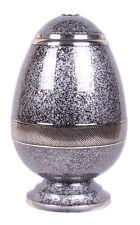Adult Cremation Urn for Ashes Large Funeral Memorial urn Egg shape Grey urn NEW
