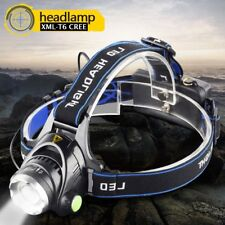 T6 Tactical LED CREE Headlamp Zoomable Headlight Head Torch Flashlight For 18650
