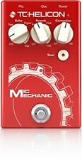 TC-Helicon Mic Mechanic 2 Electronics Vocal Effects Stompbox Pedal NEW FREE 2DAY