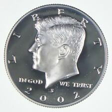 2002-S Gem Deep Cameo Proof Kennedy Half Dollar 90% Silver *175