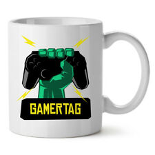 Personalised Playstation PS4 Gamertag Gift Mug for Gamer