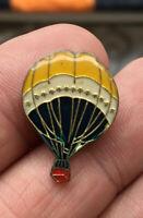 Hot Air Balloon enamel pin NOS vintage hat lapel bag 80s aviation
