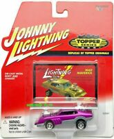 JOHNNY LIGHTNING TOPPER SERIES REPLICAS TOPPER ORIGINALS MAD MAVERICK PINK